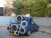DJ Mobile, el Ford Sierra makinero