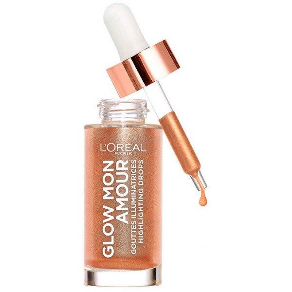 L'Oréal Paris Wake Up & Glow, Glow Mon Amour, Gotas iluminadoras, Tono Coral Glow