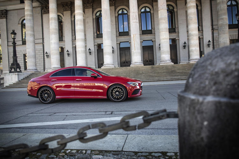 Foto de Mercedes-Benz CLA Coupé 2019, toma de contacto (17/248)