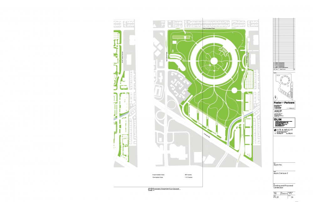 Foto de Proyecto original del nuevo campus de Apple (9/27)