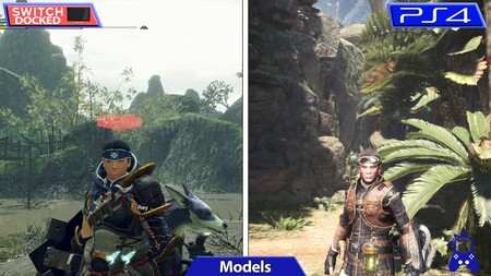 Monster Hunter Rise frente a Monster Hunter World en un vídeo comparativo que muestra sus diferencias gráficas