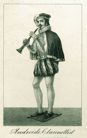 Androïde Klarinettist