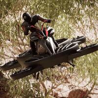 Esta súper moto voladora cuesta 680.000 dólares y promete volar a 100 km/h: así es la Xturismo Limited Edition