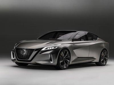El nuevo Nissan Altima estará insporado en el Vmotion 2.0 Concept, y se presentará en Nueva York