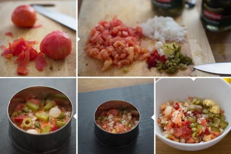 Tartar de tomate y encurtidos - 3