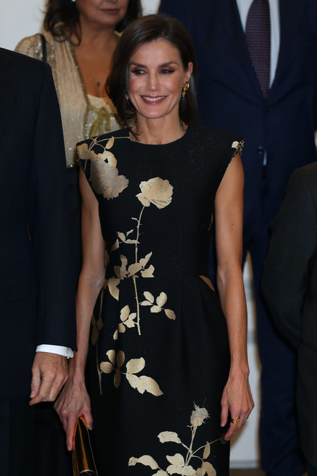 Melania Trump copia a Doña Letizia con este sofisticado vestido de flores