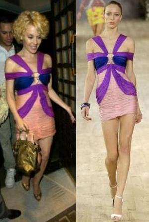 Kylie Minogue de Ungaro