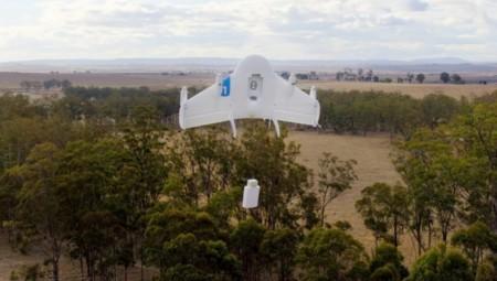 Un carrito inteligente con ruedas, la última patente de Google para recibir envíos de drones