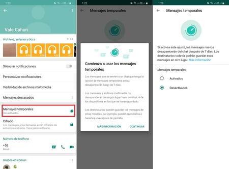 Como Activar Mensajes Temporales Whatsapp Mexico