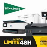 Límite 48 Horas: estas 9 impresoras HP te salen más baratas este fin de semana en El Corte Inglés