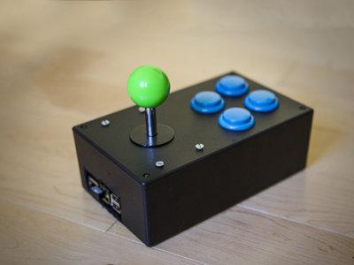 Raspberry Pi dentro de un mando arcade es todo lo que necesitas para montar la recreativa portátil