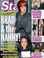 Angelina Jolie pilla a Brad tonteando con la niñera