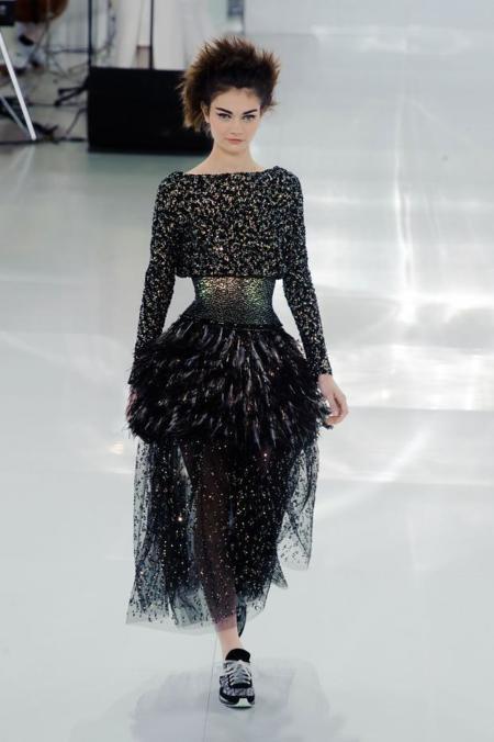 Antonina Vasylchenko Chanel Alta Costura Primavera-Verano 2014