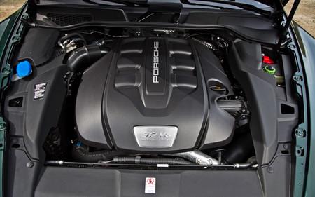 Porsche 3.0 litros diesel motor