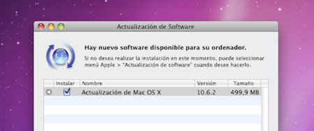 Actualización de Mac OS X Snow Leopard 10.6.2 ya disponible
