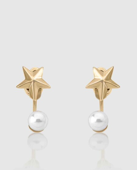 Rock Star de acero con perla