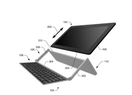 Microsoft podría estar trabajando en un nuevo teclado plegable para tabletas