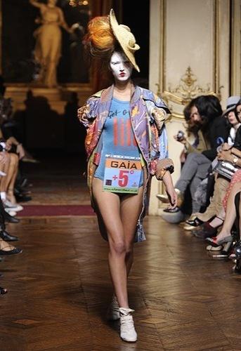 Vivienne Westwood Primavera-Verano 2010 en la Semana de la Moda de París IV