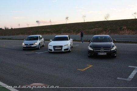 Goodyear Eagle F1 Asymmetric 2: Audi TT-RS, Audi A7 y Mercedes CLS