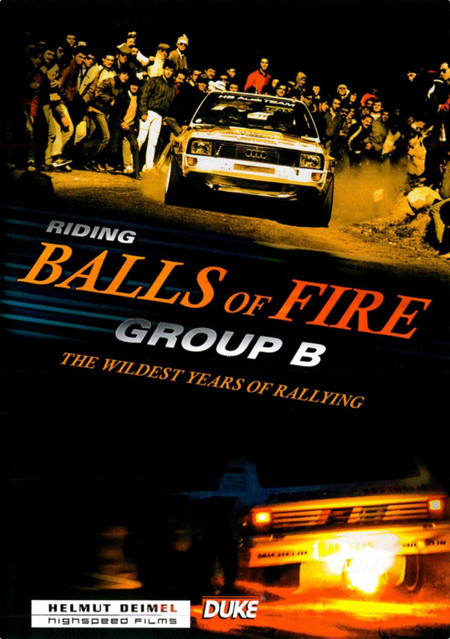 'Riding Balls of Fire - Group B', un espectáculo de rallyes que te devolverá a los buenos tiempos
