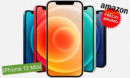 Si tu color es el verde, tienes en Amazon el iPhone 12 Mini de 64 GB por 739 euros: su precio más bajo hasta la fecha