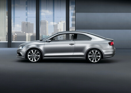 Volkswagen New Compact Coupe Concept Jetta Coupe MK6 9