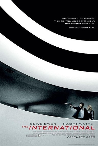 'The International', póster y trailers
