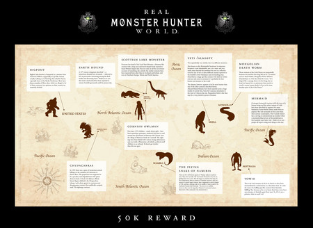 Monster Hunter World Monstruos