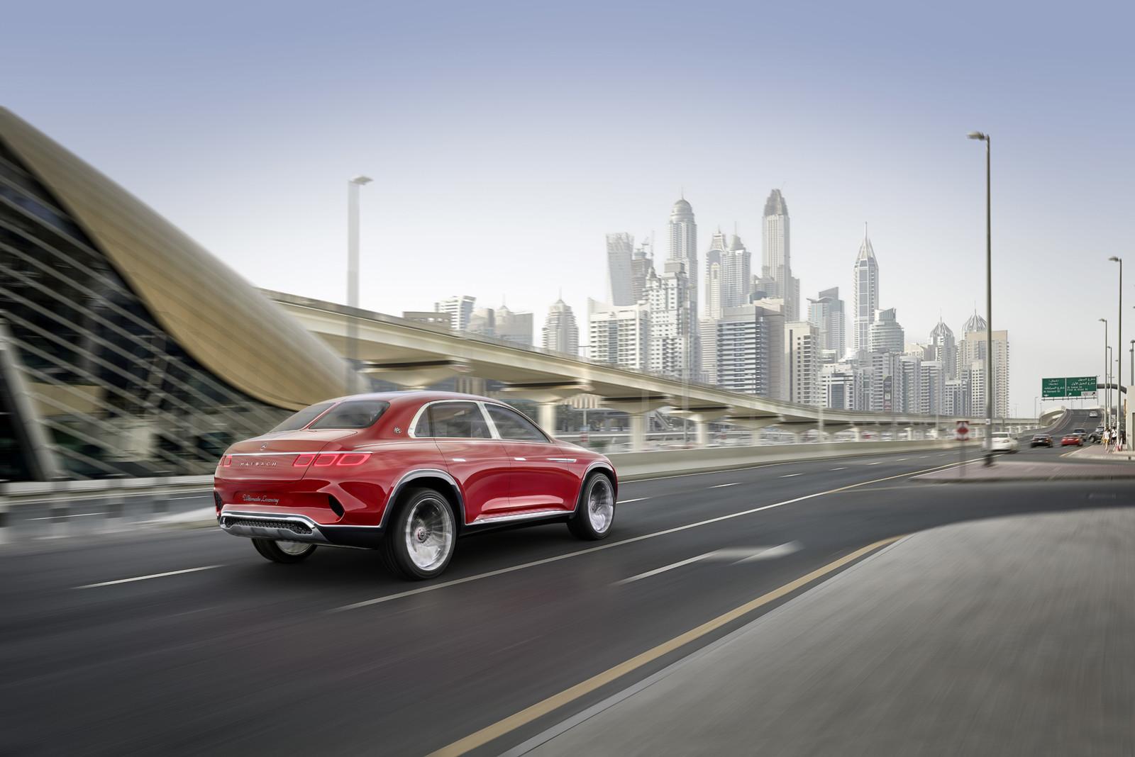 Foto de Mercedes-Maybach Ultimate Luxury Concept (14/18)
