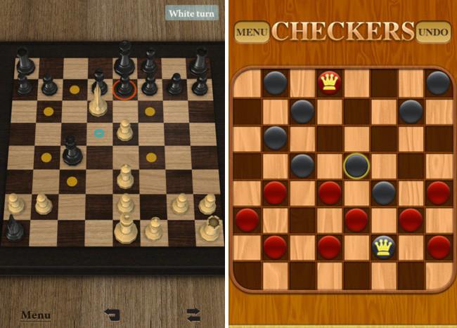Juegos de mesa para iOS - ajedrez y damas