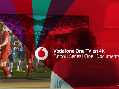 Vodafone refuerza su televisión con más contenido 4k y nuevos canales deportivos