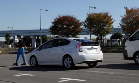 Prius Prius prueba peatón