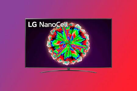 """El pantallón de 75"""" de esta Smart TV 4K LG NanoCell con WebOS 5.0 está rebajado a 899 euros en El Corte Inglés"""