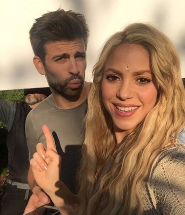 Vaya tela el momento Piqué en el videoclip de Shakira
