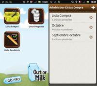 Out of Milk, una aplicación imprescindible para el día a día