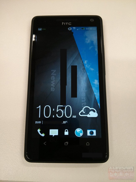 HTC M7 frontal