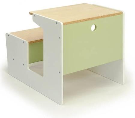 escritorio verde niños offi