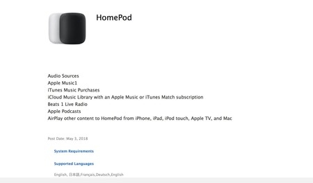 Documento Homepod Apple