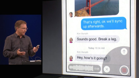 Mensajes iOS 8