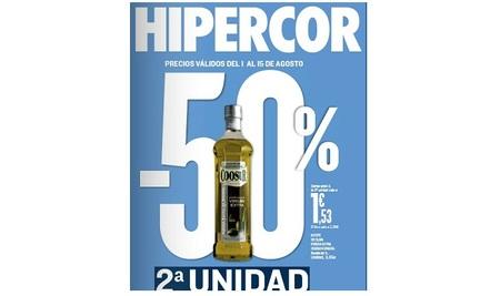 50% en la segunda unidad en Hipercor