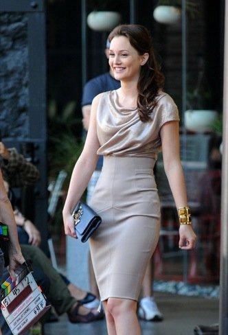 Leighton Meester vestido
