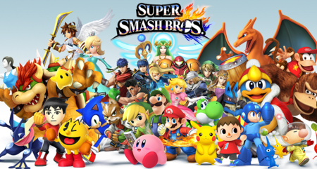 Trailer de lanzamiento de Super Smash Bros. 3DS