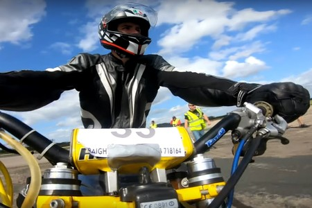 Record Guinness Moto Pino Velocidad 2