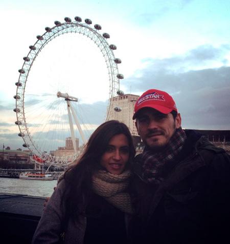 Iker y Sara, desde Londres con amor...