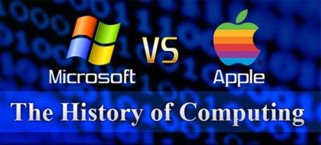 La imagen de la semana: la historia de la lucha entre Microsoft y Apple y sus consecuencias en la Bolsa