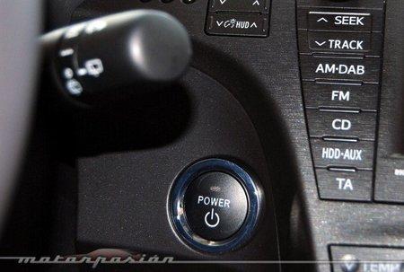 Botón arranque Toyota