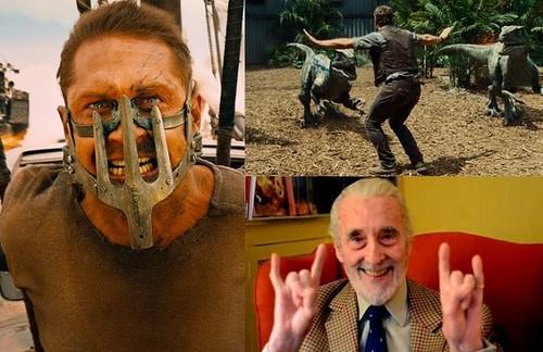 Hay más cine ahí fuera | Christopher Lee, Mad Max, dinomanía y Pennywise