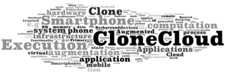 CloneCloud quiere añadir potencia a nuestros móviles