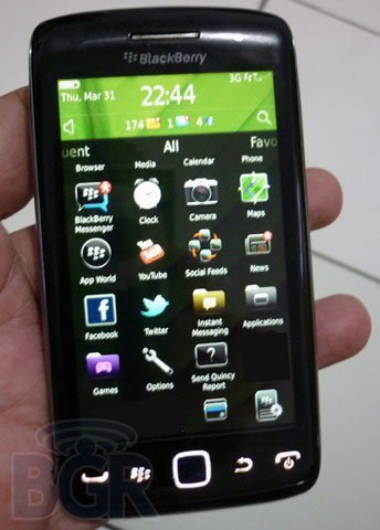 BlackBerry Monarch, el futuro BlackBerry Storm aún en fase de desarrollo