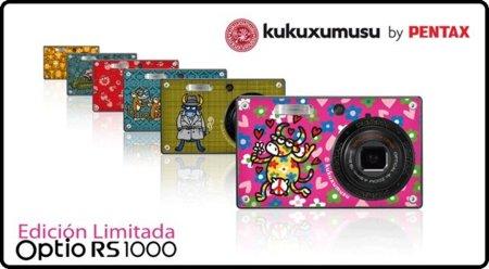 Cámara fotográfica Pentax Kukuxumusu